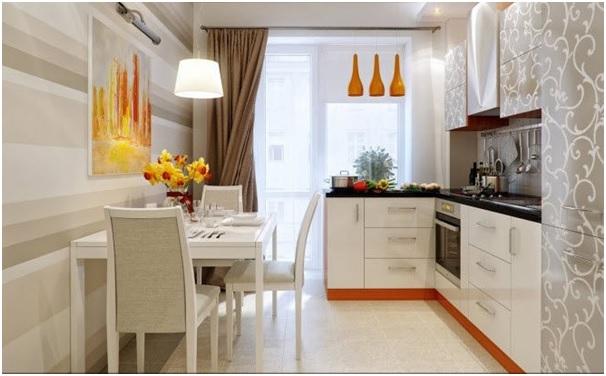 nội thất nhà bếp căn hộ chung cư 40m2 1