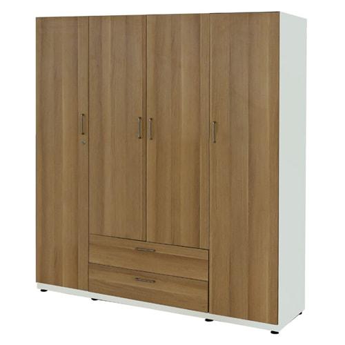 Bảng giá 20+ mẫu tủ quần áo gỗ công nghiệp 4 cánh, 4 buồng đẹp 11