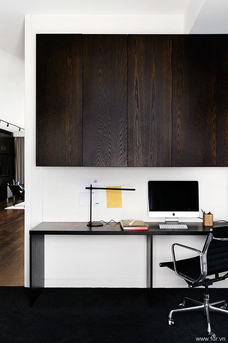 Toorak House home office
