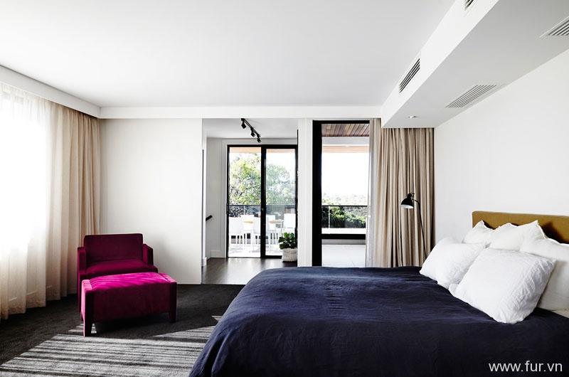 Toorak House bedroom