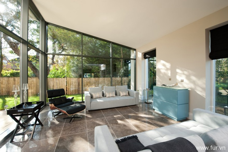 Monopitched Sunroom