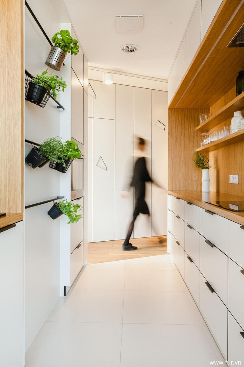 Poznan Apartment kitchen