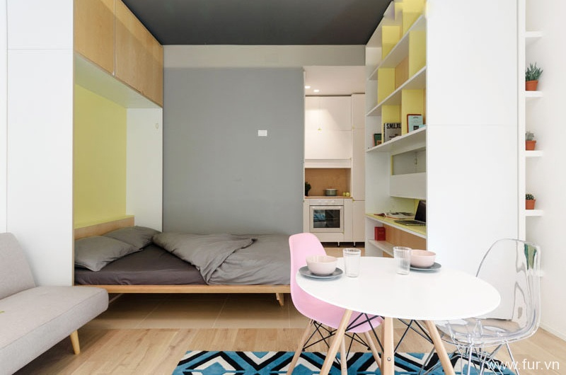 Taaacito Apartment Murphy bed