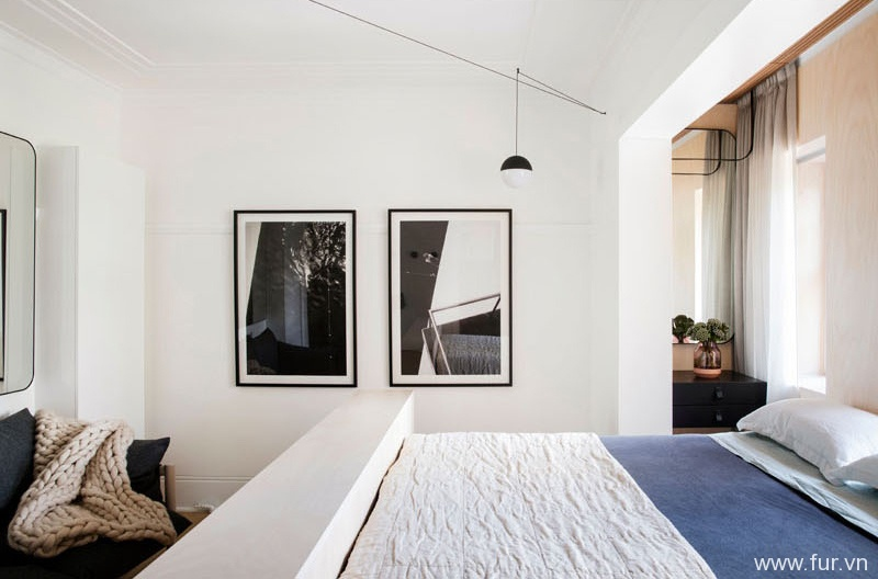 Small Sydney Apartment layout