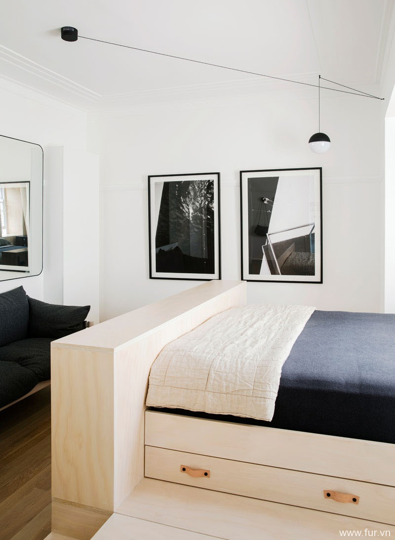 Small Sydney Apartment bed