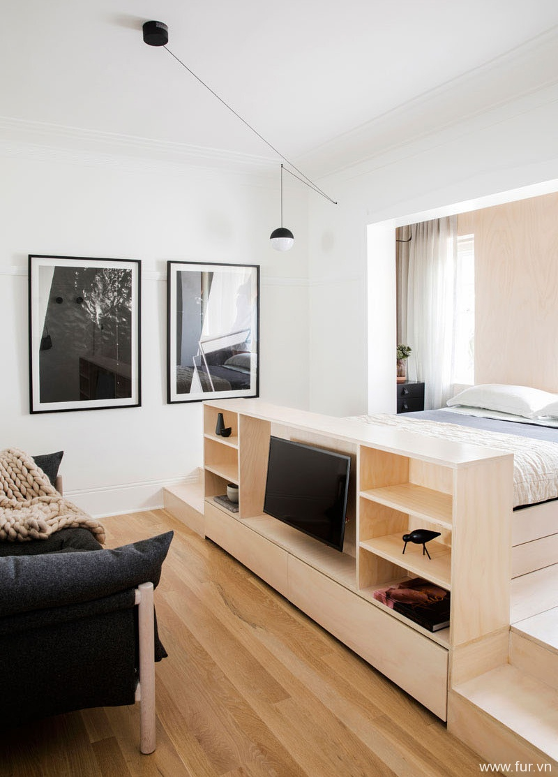 Small Sydney Apartment storage