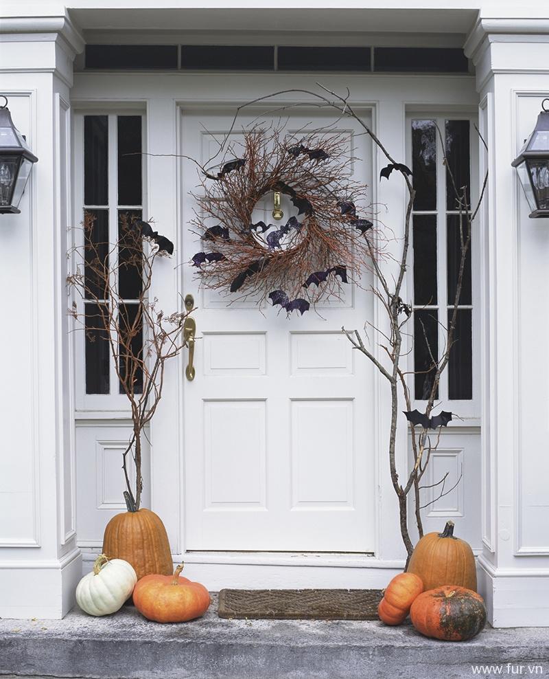 Batty Front Door