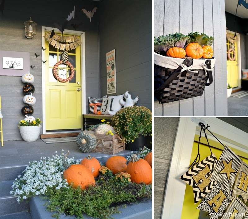 Halloween Porch Decor