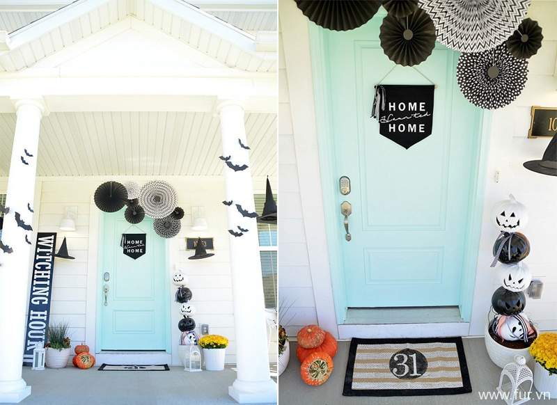 Witching Hour Halloween Porch