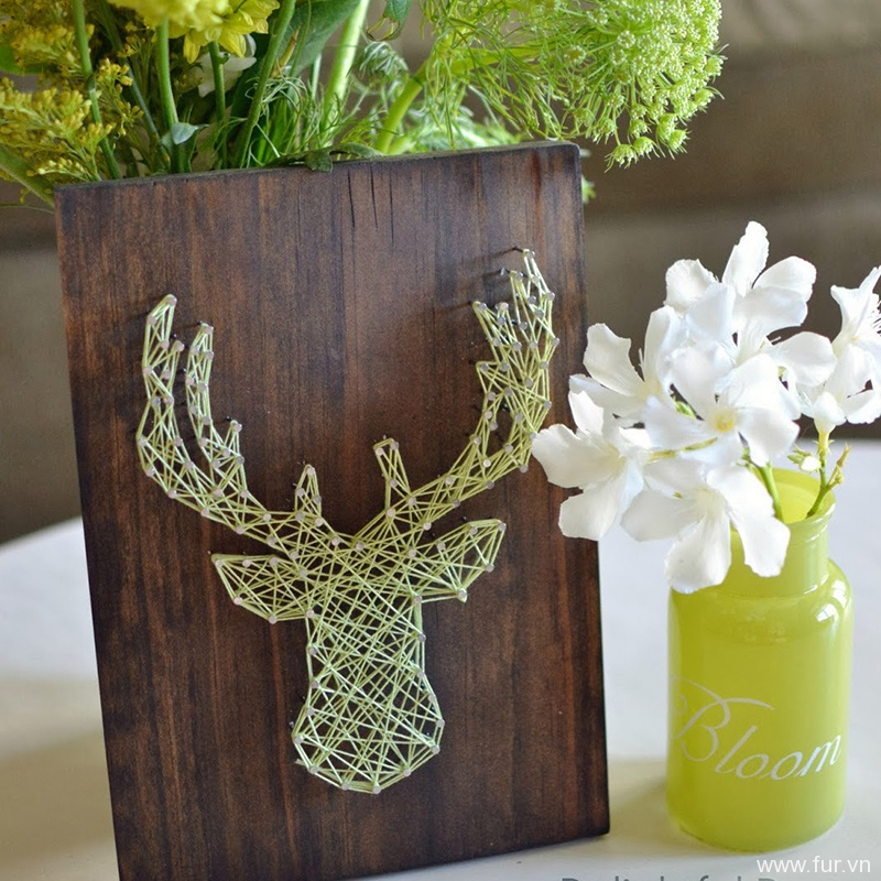 DIY Nursery String Art