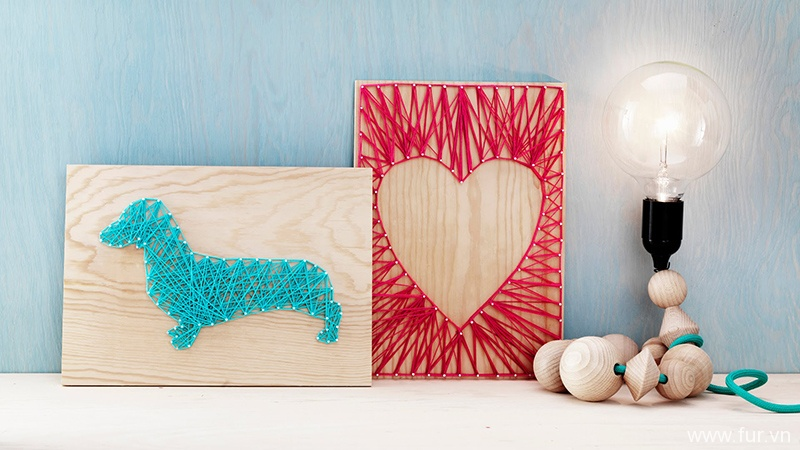 Home Deco by Me, String Art
