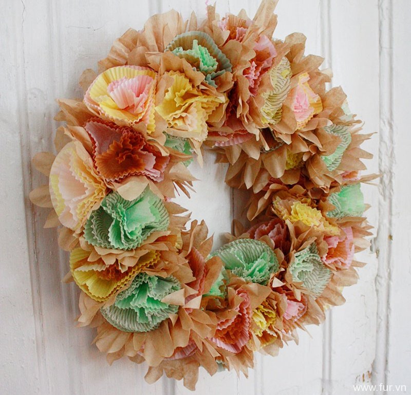 The World's Easiest Spring Wreath