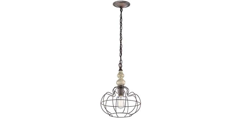 Rustic Hanging Lamps