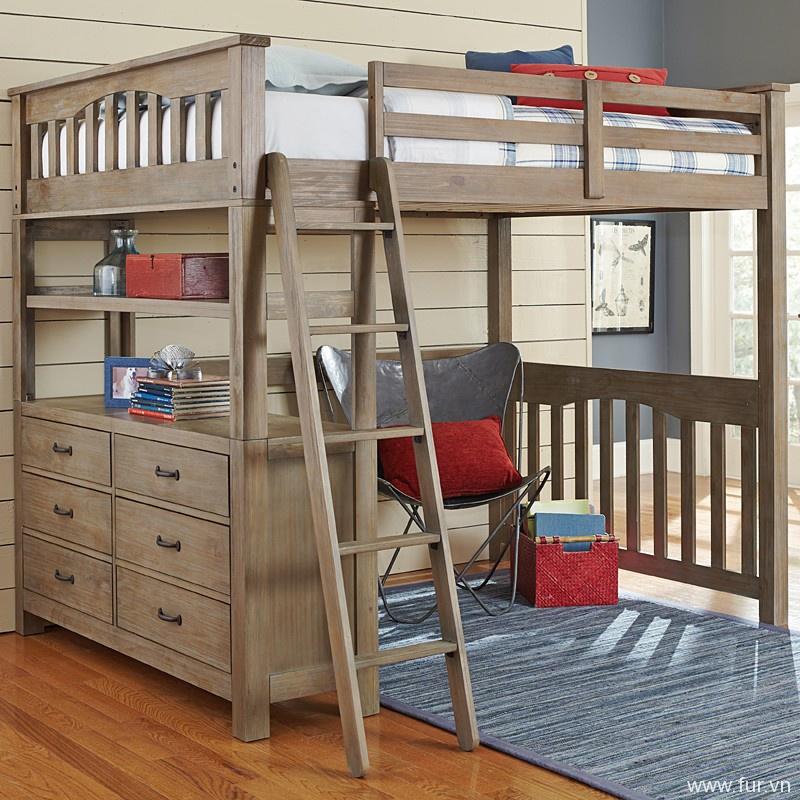 Reclaimed Grayson Loft Bed