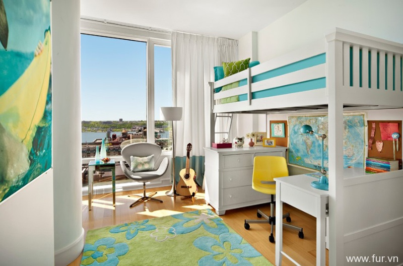 Cheerful Girl's Room