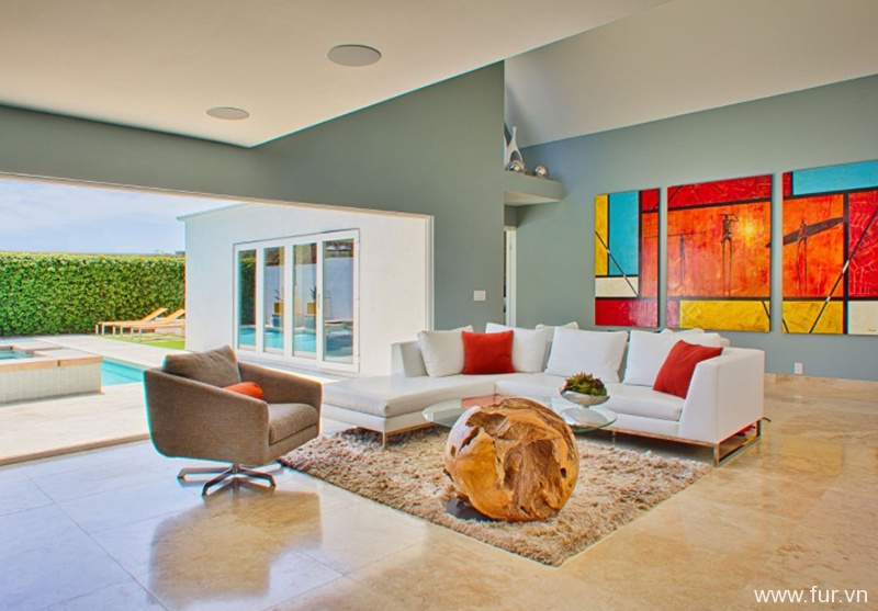 Danzig Bay- Modern Living Room