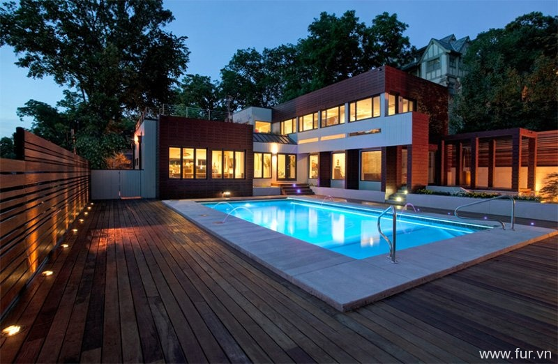 Modern Kansas Pool
