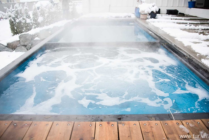 Shipping Container Swimming Pool spa