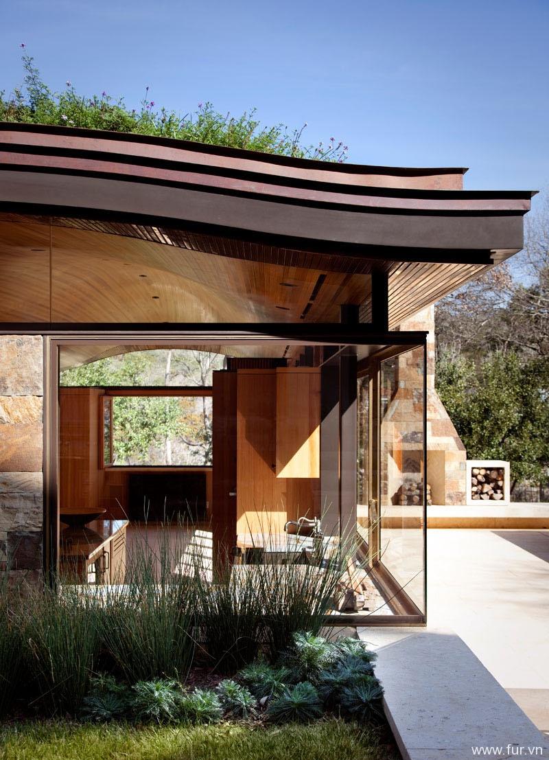 Pool House window