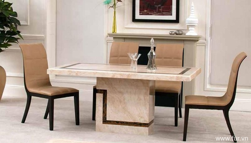 Filippo Marble 180cm Dining Table