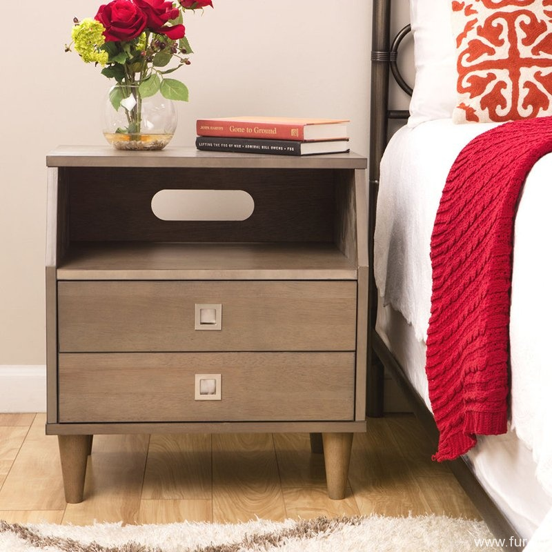 Marley 2-drawer Nightstand