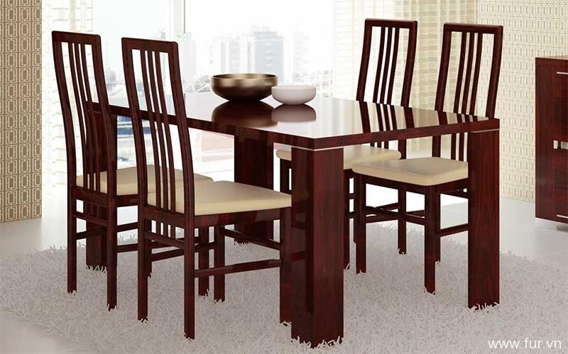 Charme Mahogany Dining Table