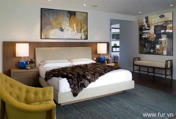 Zen Villa Grey Bedroom modern