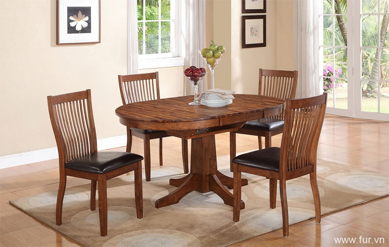 oval pedestal dining table