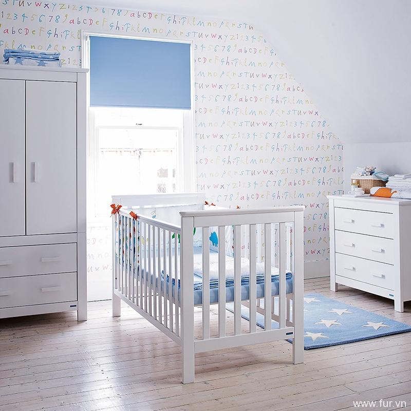 John Lewis Lasko Nursery Furniture, White