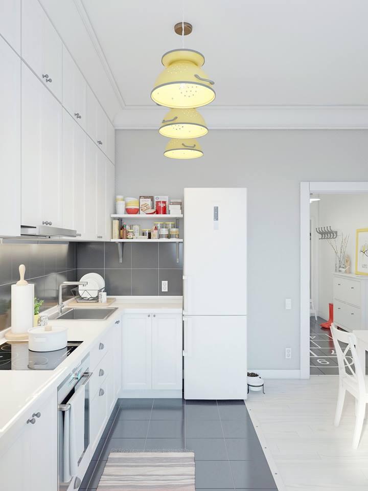 Bảng báo giá tủ bếp Melamine đẹp giá rẻ tại TPHCM (1)